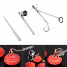Инструмент из нержавеющей стали для фитиля, крючок для стрижки, стальной триммер для свечей, масляная лампа, ножницы для отделки, ножницы дл...