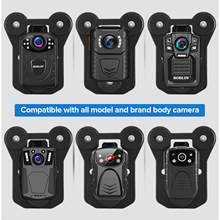 BOBLOV Magnetic Suction Back Clip Contains Magnets Inside and Outside with Strong Suction for KJ21 HD66 02 N9 T5 Police camera