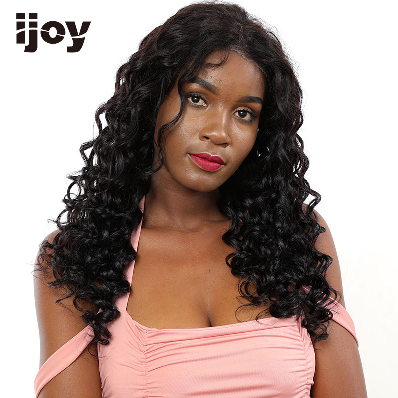 Water Wave Lace Front Wigs Brazilian Curly Human Hair Bob Wig 4x13 Water Wave Wig Natural Hair 16-26 Inch Non-Remy Winter IJOY