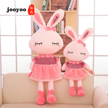 Cute 30CM Large Soft Stuffed Animal Bunny Rabbit Toy Baby Kid Girl Sleeping Stufed Toys Pillows Girls Gifts