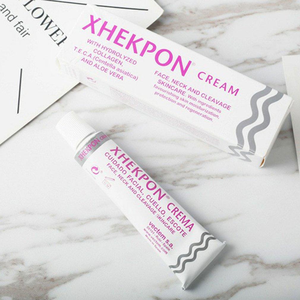 XHEKPON Crema 40ml Face And Neck Cream Neckline Cream Postpartum Wrinkle Smooth Anti Aging Whitening Firming Cream
