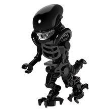 Nuevo el Dios de la guerra película depredador vs alienígena modelo de acción de ensamblaje de la construcción de figuras para armar figura juguetes para los niños