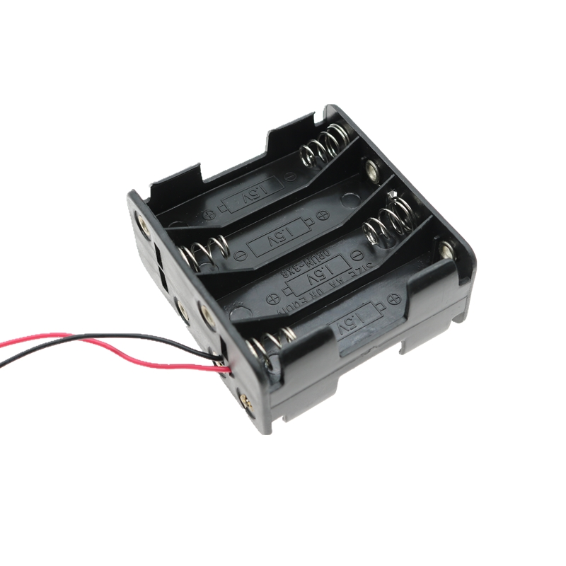 8-AAA Battery Holder Back-to-Back