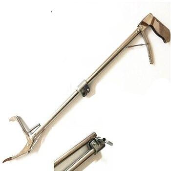 120CM składany gad Snake Tongs Stick Grabber składany Catcher szerokie narzędzie szczęki Heavy Duty produkty do zwalczania szkodników