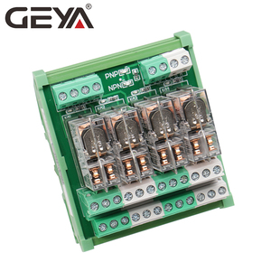 Image 3 - GEYA 2NG2R 4 Channel Omron Relay Module 2NO 2NC Electronic DPDT Switch 12V 24V Relay Board