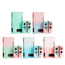 1 Set Hard PC Host Case Anti-scratch Split Protective Cover Handle Protector for Switch Game Controller Console Accessories недорого