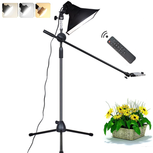 Image 1 - Photographic LED Light Fill Lamp Reflector Softbox 1.3m Floor Stand Tripod Bracket Arm Phone Live Video Shooting Photo Studio