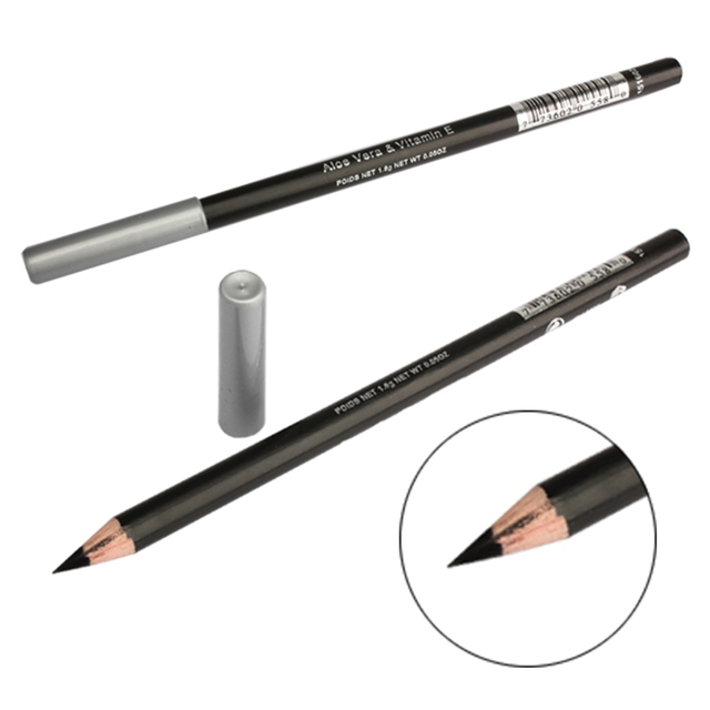 New Waterproof Black Eyeliner Pencil Eye Liner Makeup Tool Cosmetic Pen  SCI88 1