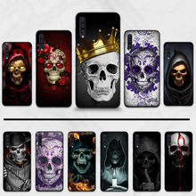 Grim Reaper Skull Skeleton Horror Phone Case For Samsung Galaxy M10 20 30 A 40 50 70 71 6S A2 6 9 2018 J7 CORE PLUS STAR S105GC8(China)