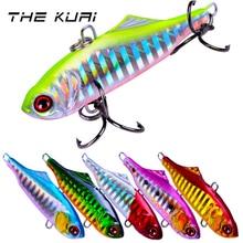 THEKUAI Fishing Lure Hard Artificial Bait Spoon 14g /65mm 8# Hook Minnow Crank Metal Jigging Lead Bass