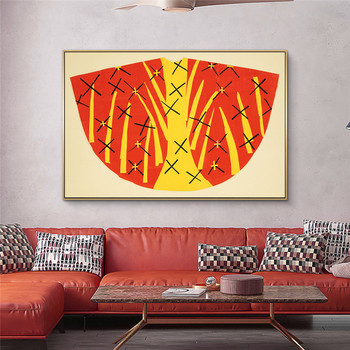 The Dance and Other Abstract Paintings by Henri Matisse Printed on Canvas 3