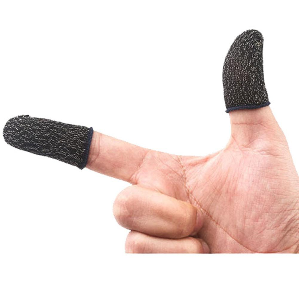 Fiber Finger Gaming Gloves For PUBG/MOBA/iPhone/Android/iOS Mobile Phone/Tablet Non-slip/Anti-sweat Breathable Finger Gloves