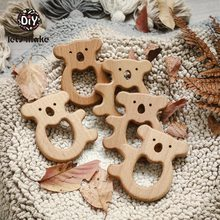 Let's Make Beech Wooden Teether Rodent Tree Baby Products Fo