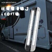 Trailer exterior lamp 12-28v led awning lamp for rv caravan interior wall lamps outdoor camping light equipment