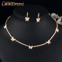 Cwwzircons бразильский Золотой Цвет кубический цирконий теннисная