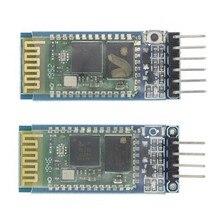 1 pçs/lote HC05 HC-05 HC06 HC-06 JY-MCU anti-reverso, módulo pass-through serial Bluetooth integrado, HC-05 master-slave 6pin