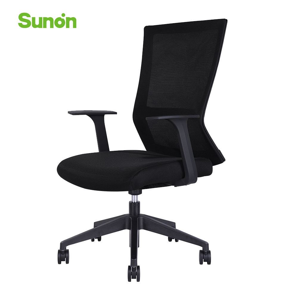 High Quality Office Computer Chair Mesh Fabric Gaming Chairs Ergonomic Table Furniture Hot Sell PA Nylon Wheels