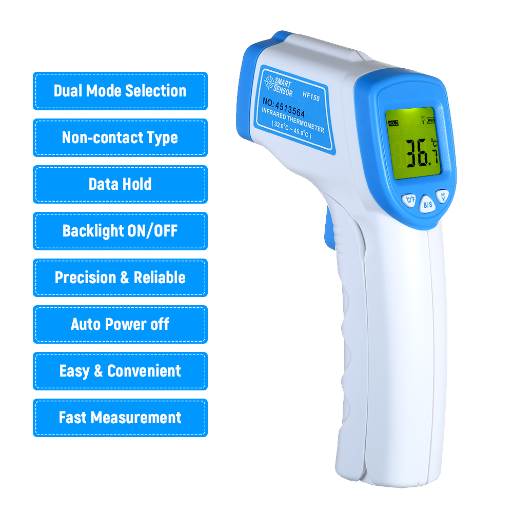 Non-contact Infrared IR Temperature Infrared Temperature Meter Digital Temperature Gun LCD Display Termometro Digital