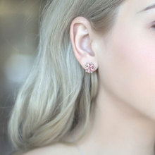 Fashion Stud Earrings Simple Temperament Snowflake-shape for Women Sexy Personality Jewelry Accessories