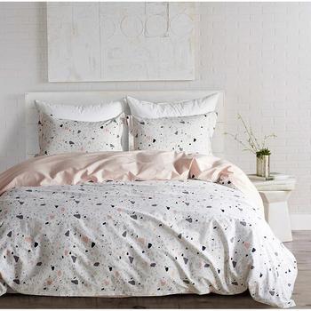 2019 nueva ropa de cama de algodón cómoda ropa de cama moderna sábanas y fundas de almohada