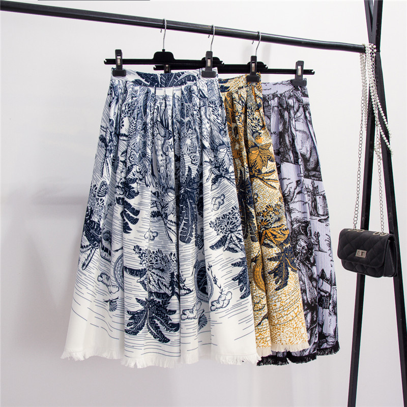 NiceMix Fashion women's Skirts 2020 Runway Luxury  famous Brand European Design party style women's Clothing