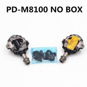 Image 4 - Shimano Deore XT PDM8000 M8020 M8100 M8120 SPD MTB Mountain Bike Clipless Pedals & Cleats PD M8100 PD M8120 Pedals