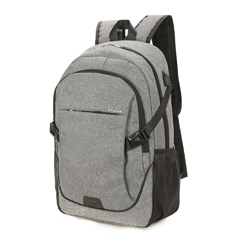 Men's High School Students Canvas Bag Backpack Women's Casual Travel Bag Computer Bag Fashion Man Backpack Fashion School Bag