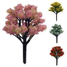 цена на 5 PCS 1/200 train railway scene scenery landscape model tree,model train ho scale 1/87 modelspoor ho treinen modelspoor ho
