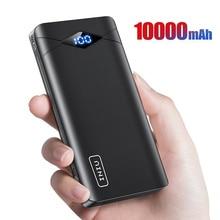 INIU Power Bank 10000mAh LED Display Dual 3A USB Portable Charger Powerbank External Battery Pack Poverbank For iPhone 8 Xiaomi