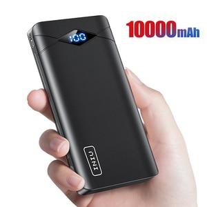 Image 1 - INIU Power Bank 10000mAh LED Display Dual 3A USB Portable Charger Powerbank External Battery Pack Poverbank For iPhone 8 Xiaomi