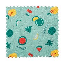 Double-sided Printed Rag Kitchen Table Cleaning Cloth Two-color Cartoon Dish Towel Coral Fleece Non-stick Oil Dish Degreasing Y8