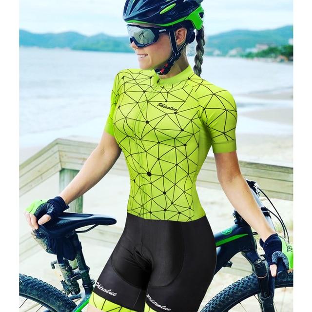 Phtxolue pro conjunto camisa de ciclismo mulher ciclismo wear mountain bike roupas da bicicleta mtb ciclismo roupas ciclismo terno 5