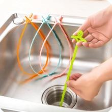 Küche Zubehör Hause Pipeline Ablauf Dredge Gerät Bad Wc Kanalisation Clog Kanalisation Reinigung Kunststoff Haken Badezimmer Gadgets