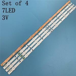 Image 5 - Nuovo 4 PCS 7LED 647 millimetri striscia di retroilluminazione a LED per Samsung UE32J5500AK D4GE 320DC1 R2 D4GE 320DC1 R1 Bn96 30443A 30442A 2014SVS32FHD