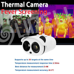 Thermal Camera Fever face recognition temperature test equipment human body measurment