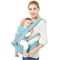 Tiancaiyiding Ergonomic Baby Carrier Breath Matetial Infant Backpack Facing Kangaroo Sling Hipseat Sling Front for Baby Travel