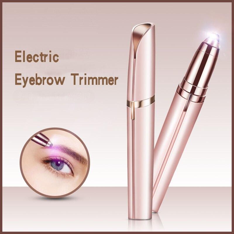Eyebrow Trimmer Shaving Machines Hair Removal Woman Electric Eyebrow Epilator Makeup Tool Hair Trimmer Women Makeup Femme 2