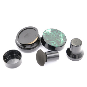 Image 5 - Cabeça de cogumelo selo sopro vazio cc bb creme almofada de ar caso com pó sopro para diy recarga cosméticos recipientes conjunto frasco