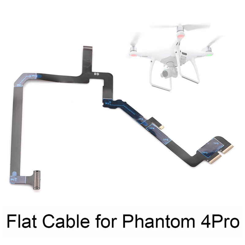 Ribbon Flat Cable Soft Flexible Wire Flex Cable Camera Gimbal Repairing for DJI Phantom 4 PRO Advanced Spare Parts Replacement(China)
