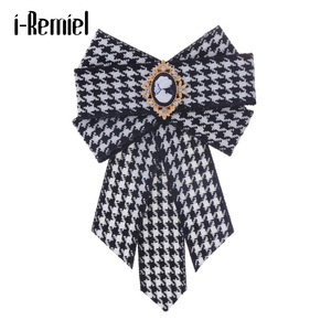 i-Remiel Bowtie Bows Breastpin Shirt Dress Vintage Shirt Butterfly Neck Ties Pins And Brooches Kawaii Gifts For Guests Women Men(China)