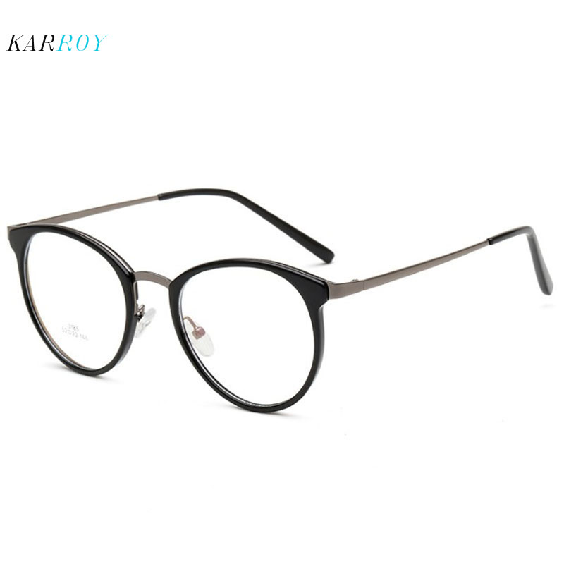 New Ultra-light TR90 Myopic Eyeglasses Frame Opitcal Men Vintage Women Glasses