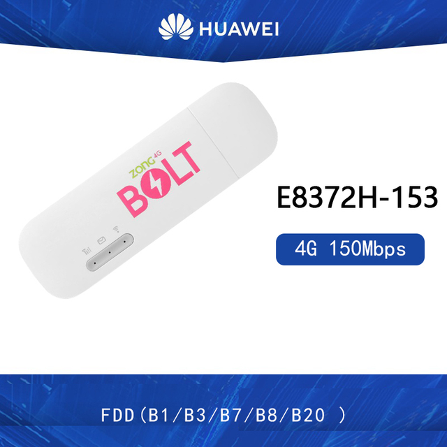 Unlocked Nieuwe Huawei E8372 E8372h 153 4G Lte 150Mbps Wifi Modem 4G Usb Modem Dongle 4G Carfi modem3G-modems