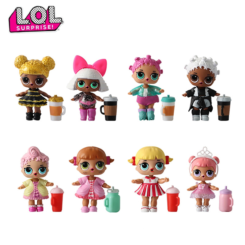 LOL Dolls SURPIRSE Without Original Box Magic DIY Lol Dolls Action Figure Model Girl's Toy Gift 1 Pcs Random Send