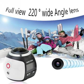 Anti-Shake VR Wide Angle HD Waterproof Mini DV Sports Camera WIFI 4K 360 Degree Panoramic Easy Operation