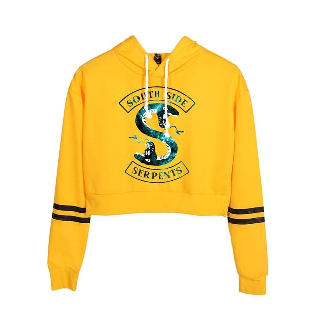 Riverdale South Side Serpents Print Hoodies Long Sleeve Shirts Women's Sweatshirt Harajuku Hoodies 8