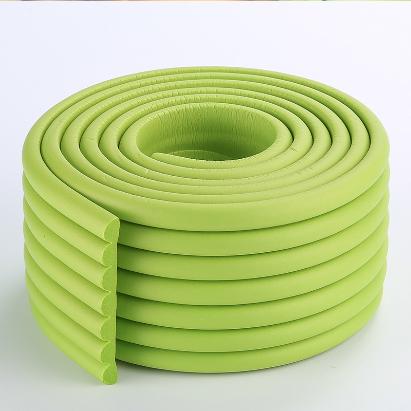 2m Rubber Soft Bumper Kid Baby Safety Protector Cushion Table Edge Corner Guard