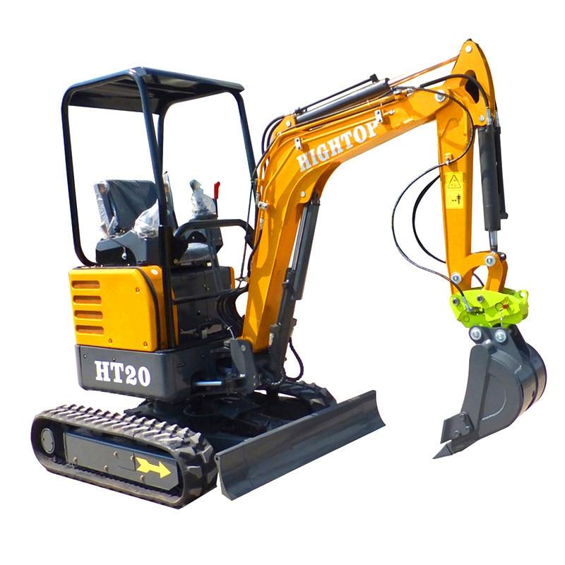 2020 Full Hydraulic Crawler Mini Excavator 2ton 2.2ton  CE EPA Approved For Sale