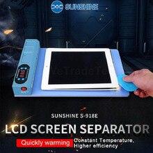 Neue Release LCD Bildschirm Spearator Heizung Platte Mit USB Port für IP iPad Handy LCD Screen Eröffnung Maschine