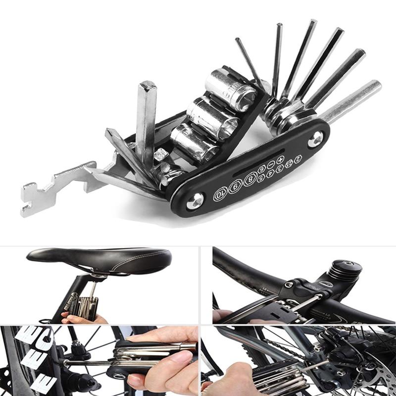 MTB Mountain Cycle Portable Socket Multipurpose Wrench Bicycle Multi Tool Kit