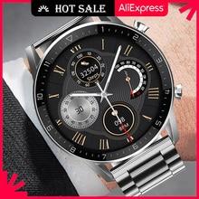 Ipbzhe สมาร์ทนาฬิกาผู้ชายบลูทูธ2021 Android ธุรกิจ Reloj Inteligente สมาร์ทนาฬิกา ECG Smartwatch สำหรับ IOS Iphone Huawei